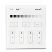 Mi.Light T1 4-Zone Brightness Dimmer Touch Panel Remote Controller