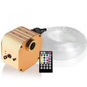 Shooting LED Illuminacion Music Twinkle 16W RGBW LED Star Ceiling Optic Fiber Light