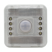 8LEDs Light Lamp PIR Auto Sensor Motion Detector 2Pcs