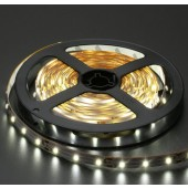 Non-Waterproof 12V DC 5M Pure White 3528 LED Strip Light 300LEDs