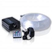 16W RGB LED Projector Living Room Modern Light 200pcs 0.75mm 2m Optical Fiber