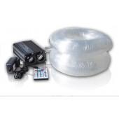 32W RGBW Illuminator With 800pcs 0.75mm PMMA Fiber Cables Led Fiber Optic Light