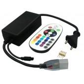 AC 110V 220V IR Remote RGB Controller For SMD 5050 3528 Strip Light