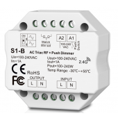 S1-B Led Controller Skydance Lighting Control System Triac RF Dimmer Push Dimmer 1CH 1A AC