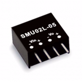SMU02 Series 2W Mean Well Unregulated Converter Power Supply 2pcs