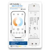 V2-L + R7-1 Led Controller Skydance Lighting Control System 8A Color Temperature LED Controller Kit
