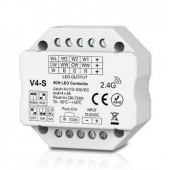 V4-S Led Controller Skydance Lighting Control System 4CH 12-24V Controller Flush or Surface Mounting
