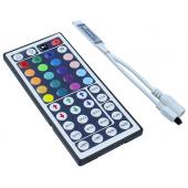 12V 6A 44Key IR RGB LED Controller For SMD 3528 5050 Strip Lights 3pcs