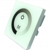 Wall Mount Touch Panel LED Dimmer 8A DC12-24V