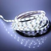 Waterproof 5M White 3528 LED Flexible Strip Light 12V 300LEDs